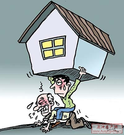 啃老族,澳洲房产价格上升