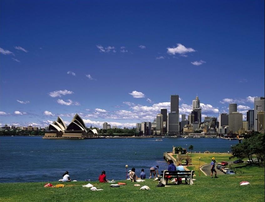 澳洲人文景观_