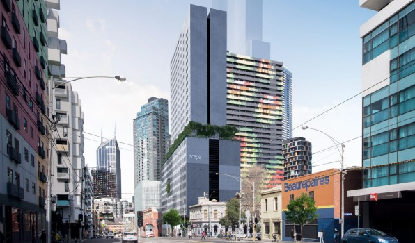 墨尔本cbd将建全球最高60层大学生宿舍楼 包括创业孵化中心图片