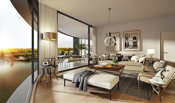 离悉尼市中心40公里 212平米顶层公寓超$300万售出 创下当地记录