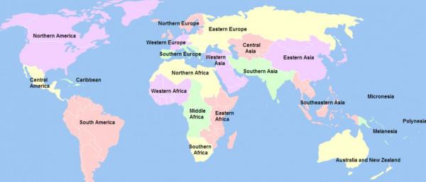 世界谋杀地图曝光!中国与澳洲皆为安全国家!图片