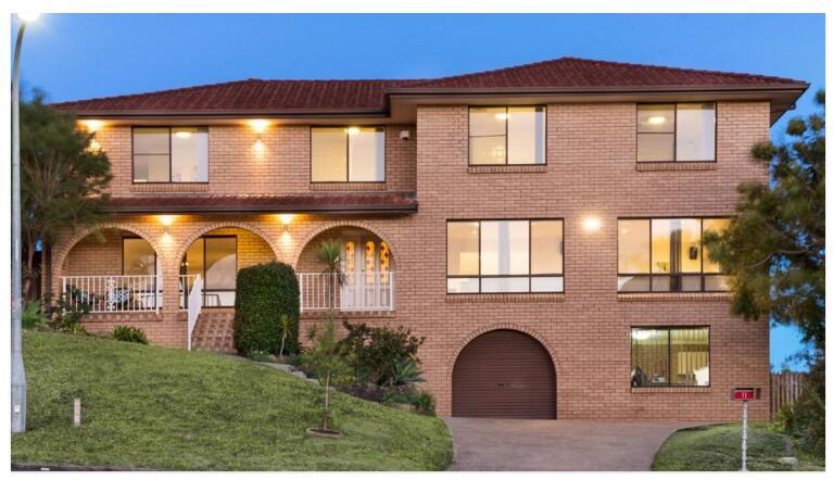 悉尼宝琴山超大物业拍卖 9口大家庭拿下