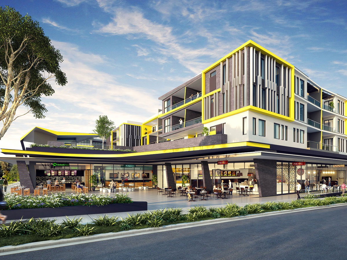 悉尼精品公寓New Kellyville Apartments
