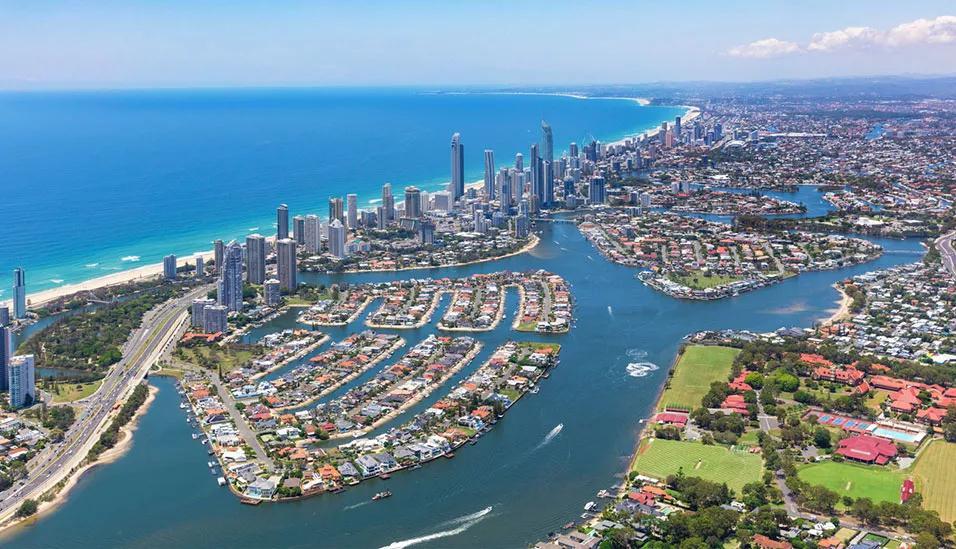 黄金海岸2房&3房公寓全昆州租金最高,海滨城区表现突出