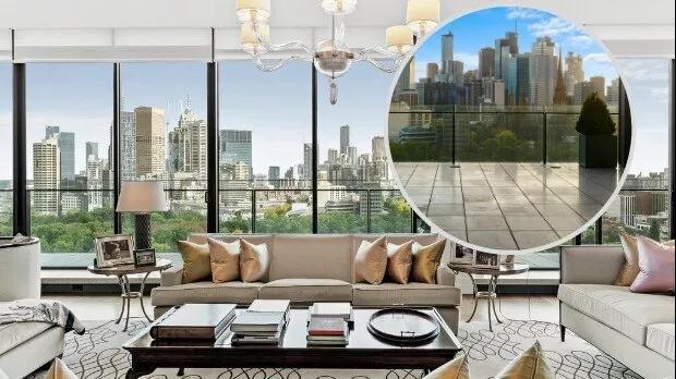 $4600万!墨尔本华人房主南半球最大公寓出售,或成维州楼王