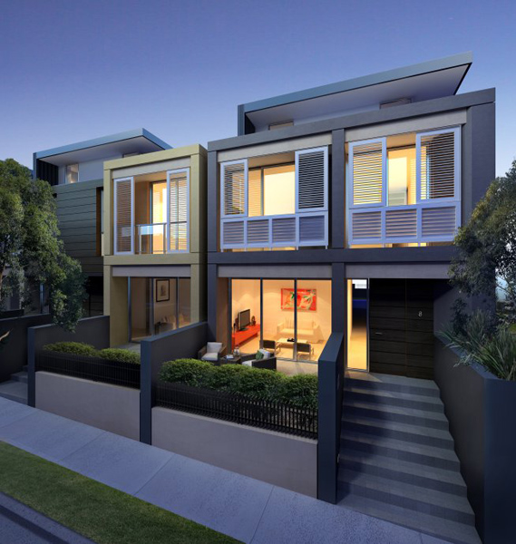 terraces—悉尼海滩别墅